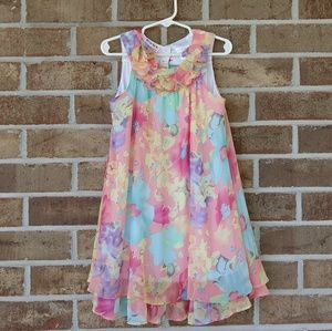 Blueberi boulevard girls frilly dress